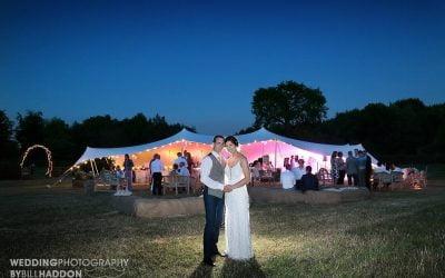 Vintage Wedding Stretch Tent Marquee
